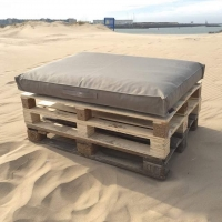 Pallet kussens Taupe 2019