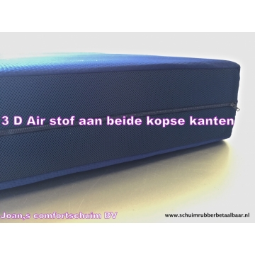 Blue air pocketvering 80x210x22 cm