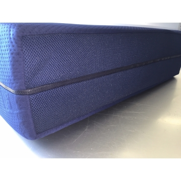 Blue air pocketvering 120x190x22 cm