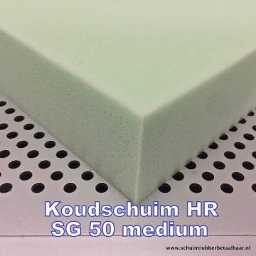 HR SG 50  medium koudschuim 160x200x2