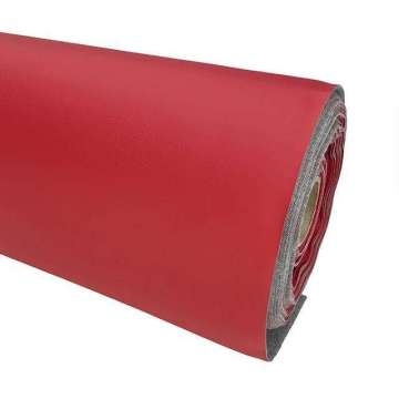 Kunstleer limit FR rood 140 cm breed