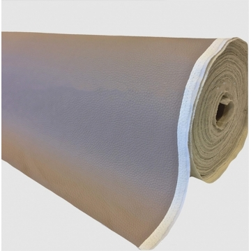 Kunstleer xp grove nerf Taupe 140 cm breed