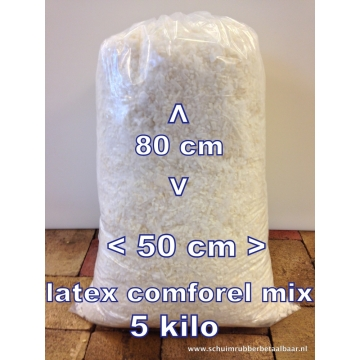 latex / comforel baal 5 kilo