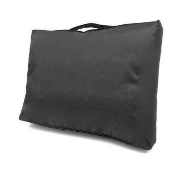 Outdoor kussen 40x60x10 cm Zwart