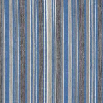 Outdoorstof stripes blue 150 cm breed