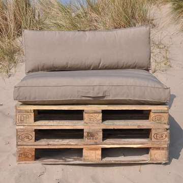Pallet kussens Taupe 2019 WINTERSALE