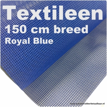 Textileen Royal Blue 150 cm breed