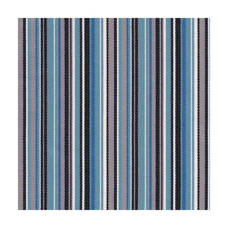 Outdoorstof stripes old blue 150 cm breed